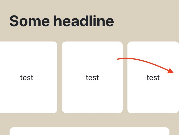 Creating horizontal scrolling containers the right way [CSS