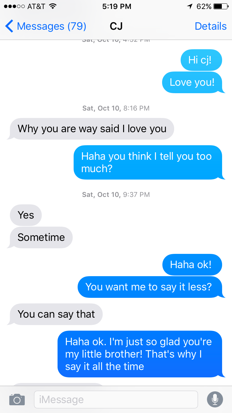 Texts From My Brother - Marah Lidey - Medium