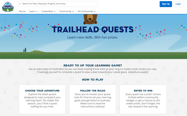 Trailhead Quests — Get MOAR Out of Your Learning - The