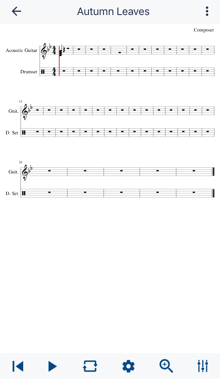 Music Notation Software Part I, MuseScore Connects Sheet