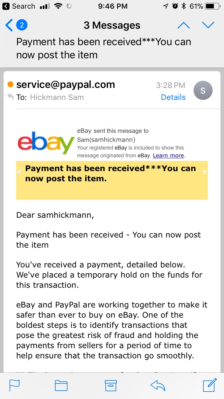 Why I will never sell a product again on eBay, and why you