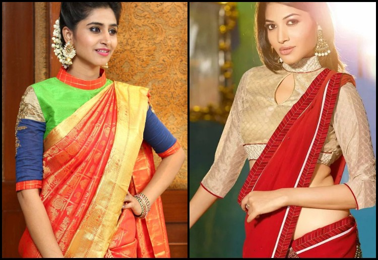 7 Bridal Blouse Neck Designs To Pair It With Designer Sarees By Rani Shete Medium