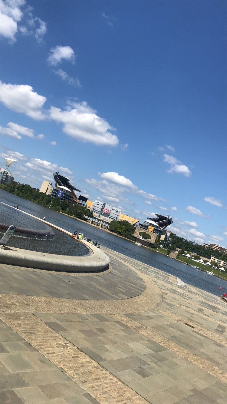 View of Heinz Field from Point State Park