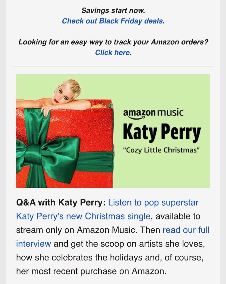 Katy Perry Cozy Little Christmas.A Superfan S Perspective On Where Katy Perry Went Wrong