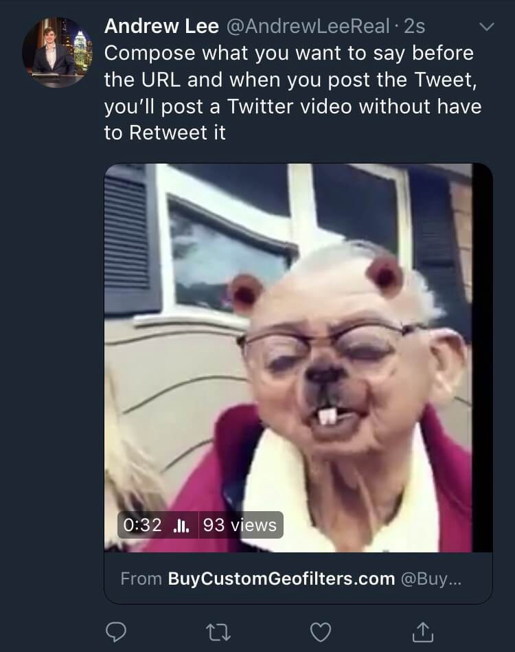 Twitter Tips (2019): How To Share Someone's Twitter Video