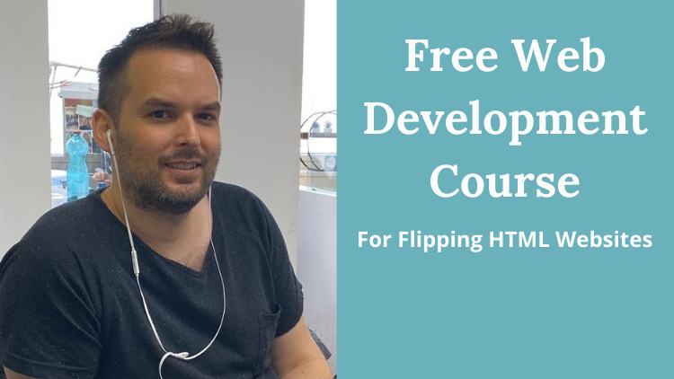 Free Web Development Course For Flipping HTML Websites