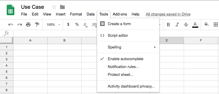 Using Google Apps Script to fetch data from your Google