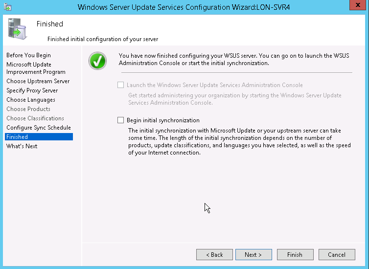 Installing and configuring WSUS servers - Tech Jobs Academy