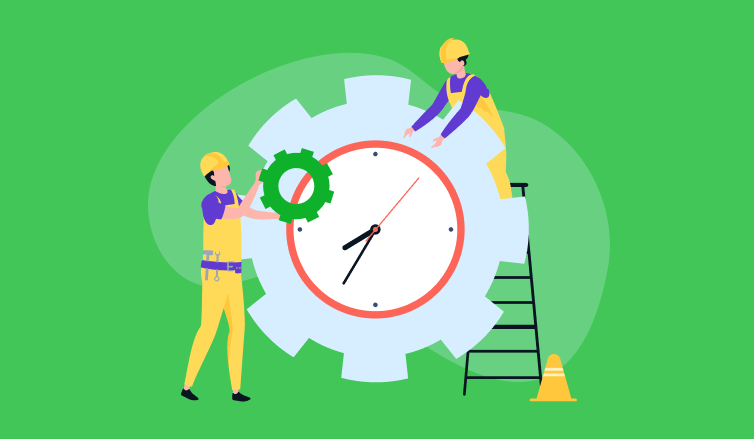 Setting up efficient time tracking in a construction business