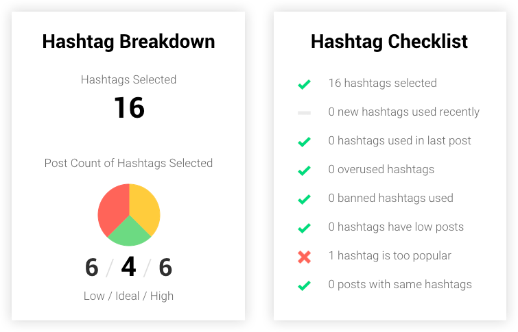 keeping track of hashtags on Instagram is easy with Curate