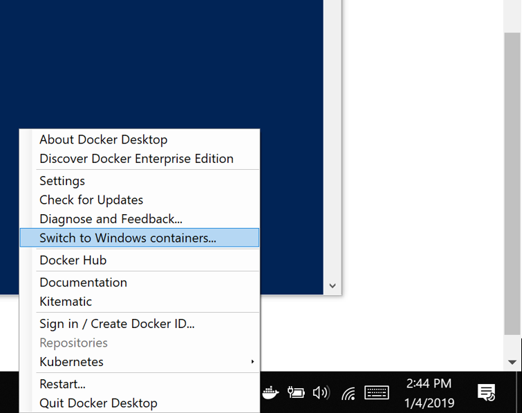 Demystifying Docker Containers Support on Windows 10 and