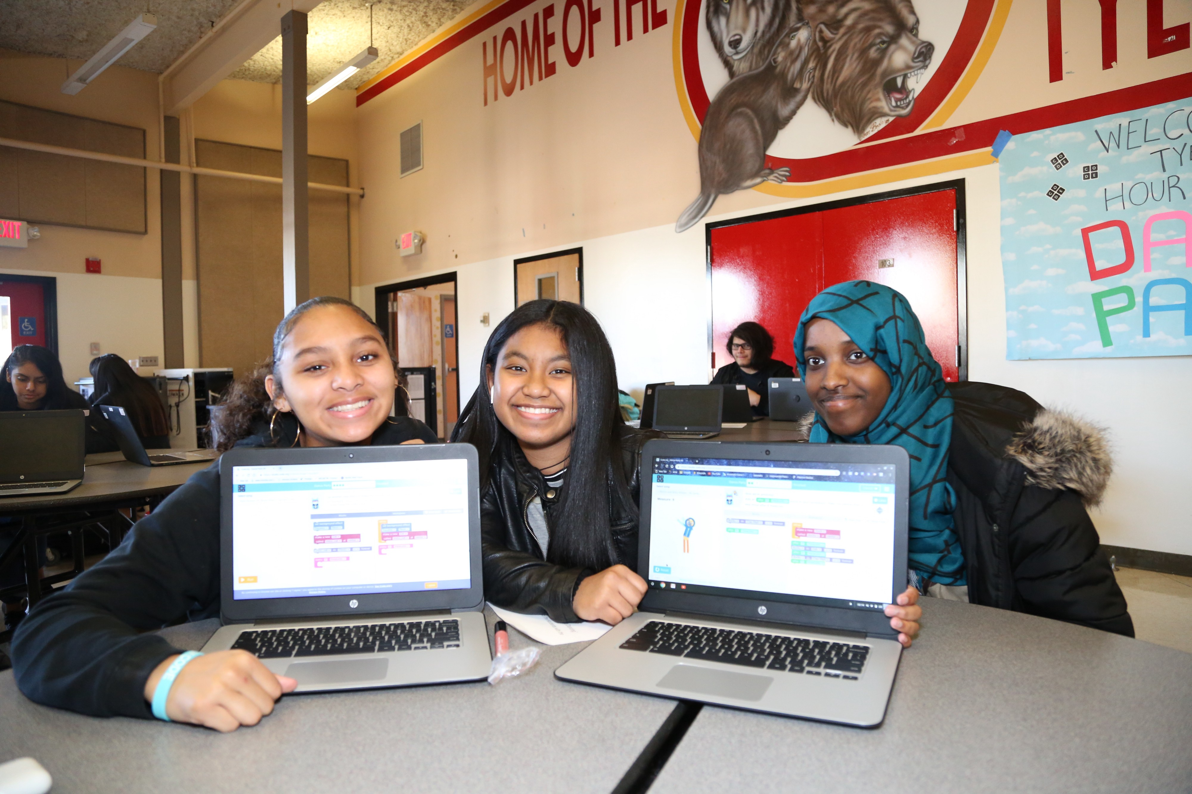 Students can't get enough': Hour of Code 2018 inspires