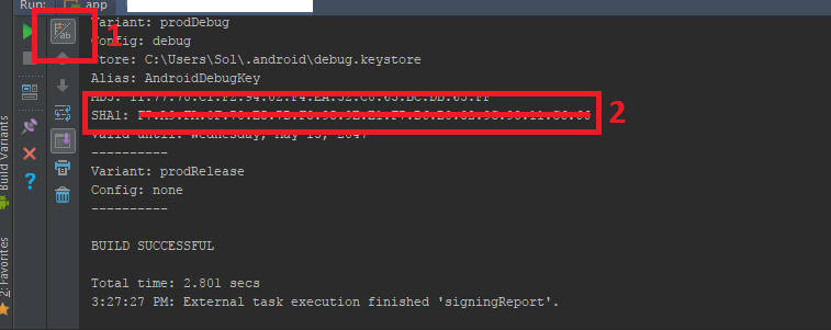 Get SHA1 from Android Studio - Pen | Bold Kiln Press - Medium