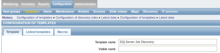 Dynamically monitoring SQLServer jobs with Zabbix - Jean