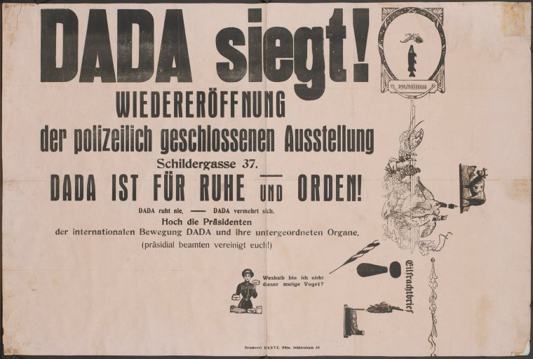 Image of the Dada Movement poster