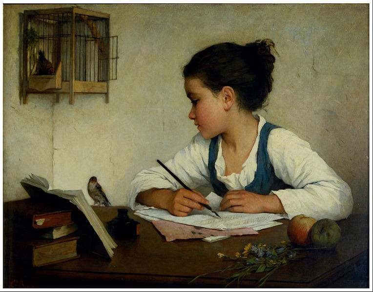 how to write with a free heart