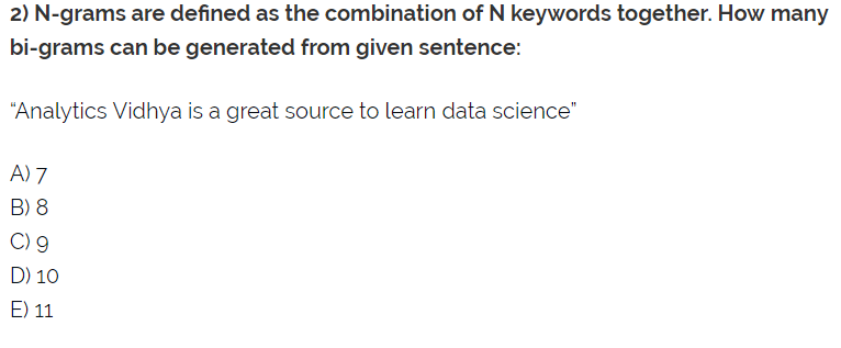 My Take on 30 Questions to test a data scientist on Natural