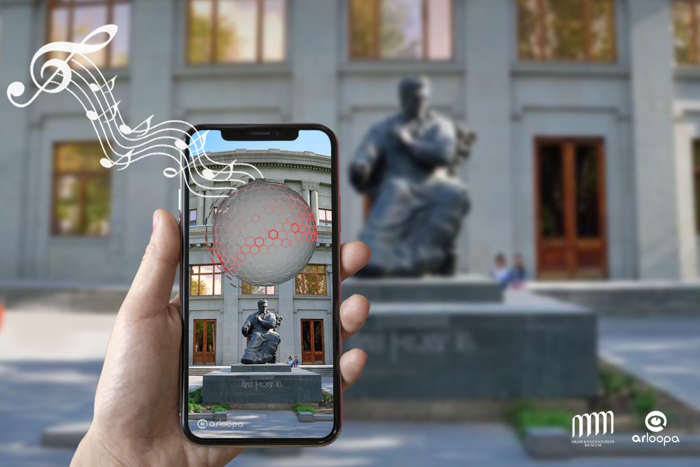 Augmented Reality—Music by Aram Khachatryan Visualized by ARLOOPA App