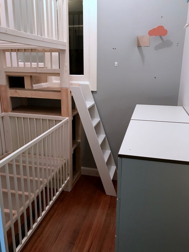 Crib Bunk Bed Hacked From Ikea Gulliver Cots By Beverly Sutton Medium