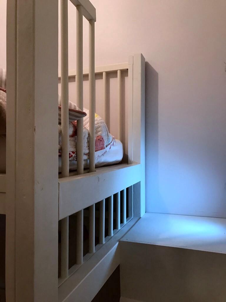 Picture of: Crib Bunk Bed Hacked From Ikea Gulliver Cots By Chance Kirkland Medium