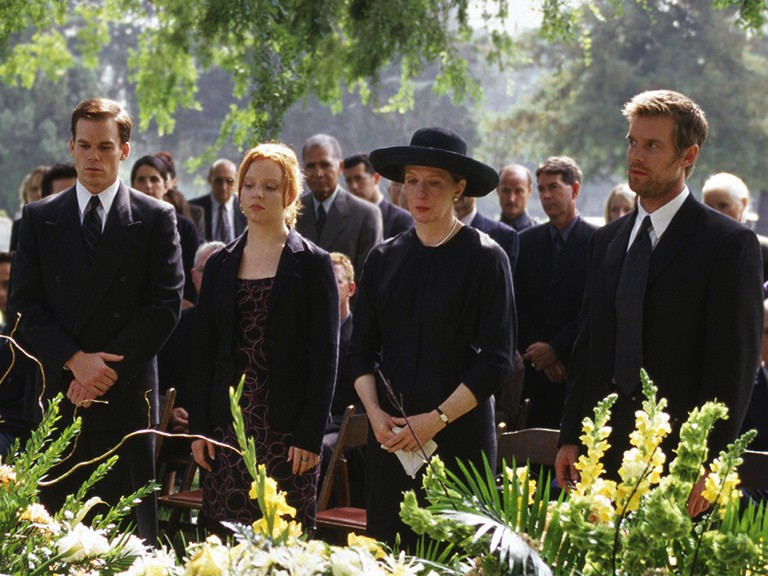 TV Review: Six Feet Under — Season 1 - What Simon's Seen