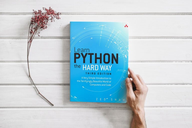 Learn Python 3 the Hard Way— book for those who want to learn python programming from beginner to professional