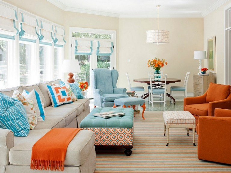 How To Use Complimentary Colors For Your Home Decor By Brightech Interior Design Inspiration Medium