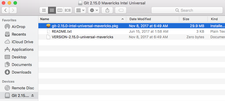 Installing Git for the first time on Mac OSX - codeburst