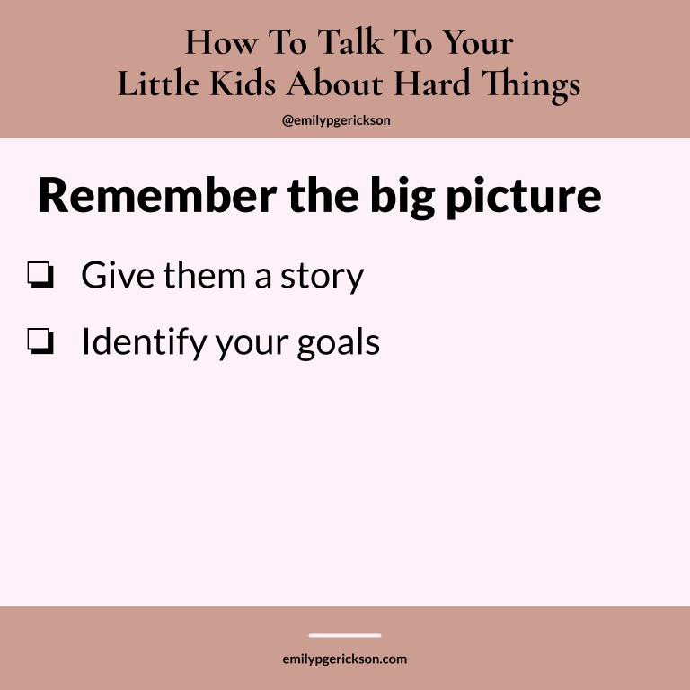 How to remember the big picture by Emily P.G. Erickson