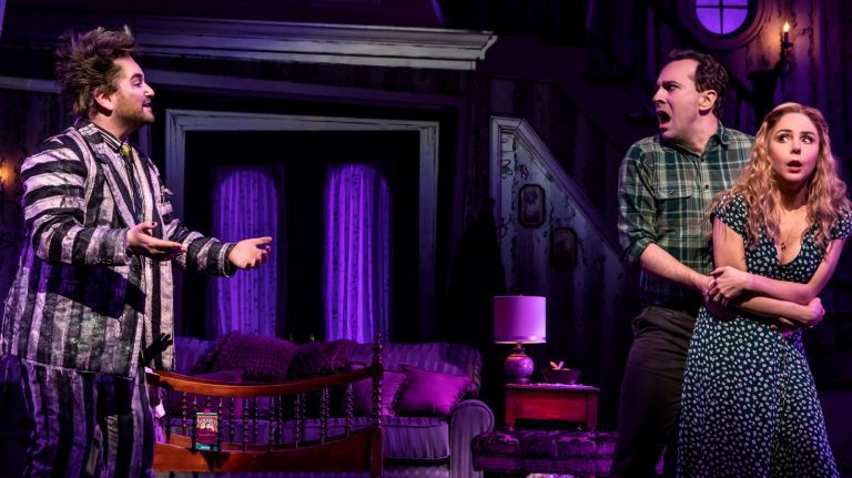 Review Beetlejuice Comes To Broadway Broadway Broadway By Christian Lewis Medium