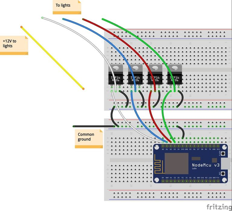 Build Your Own Wi-Fi LED Light Strip Controller Using the