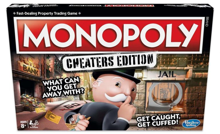 Get out of jail free: what the Monopoly Cheaters Edition and