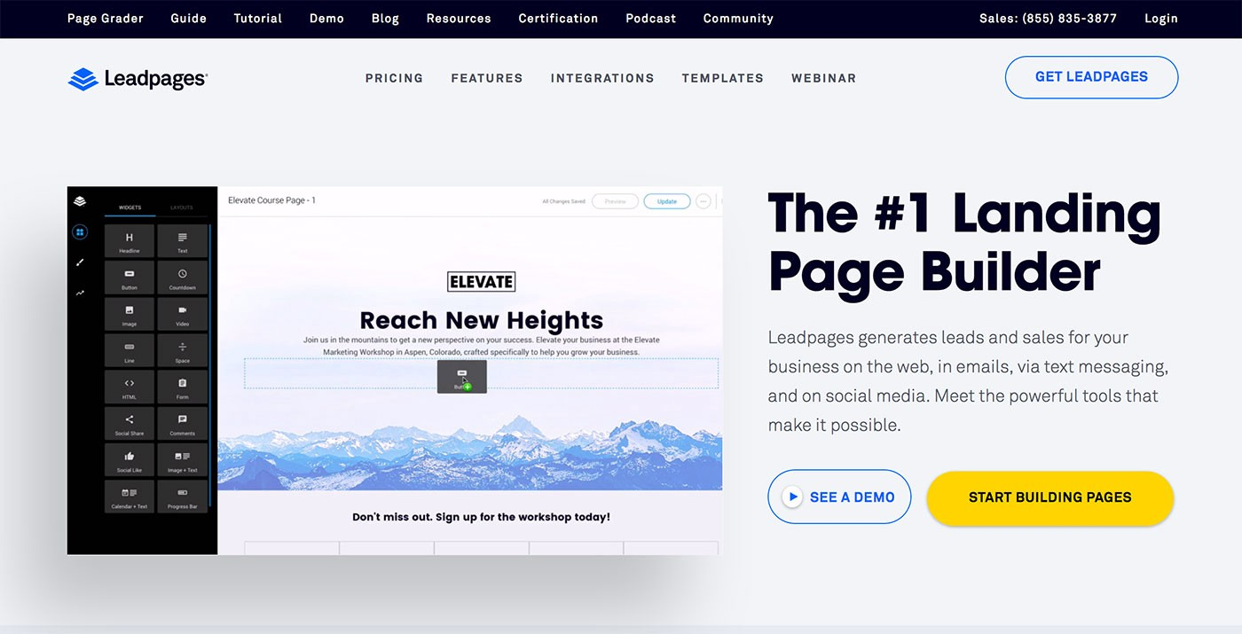 Leadpages  Install These 5 WordPress Plugin To Make Your Landing Page Credible & Powerful 1 gxQyxFyOuRyqLobQlAPnhw