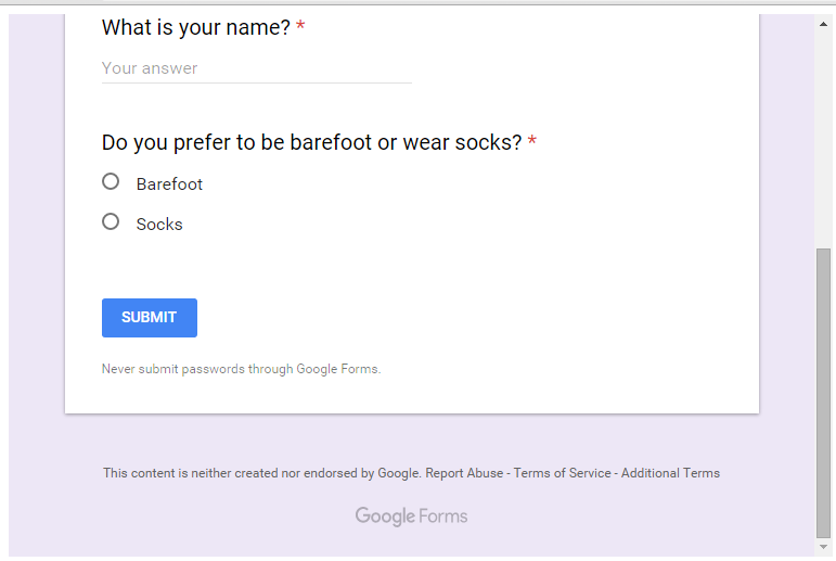 Avoid Databases by Hacking a Google Form - codeburst
