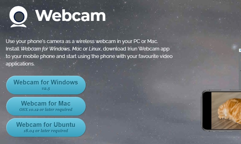 How To Turn Your Smartphone Camera As A Webcam For Your Pc 2020 Mac O Clock