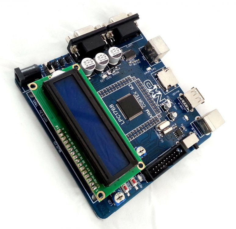 LPC1768 evaluation board and its Applications - Graylogix