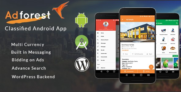 Adforest: Classified Apps for Android — Mobile Classifieds Ads App