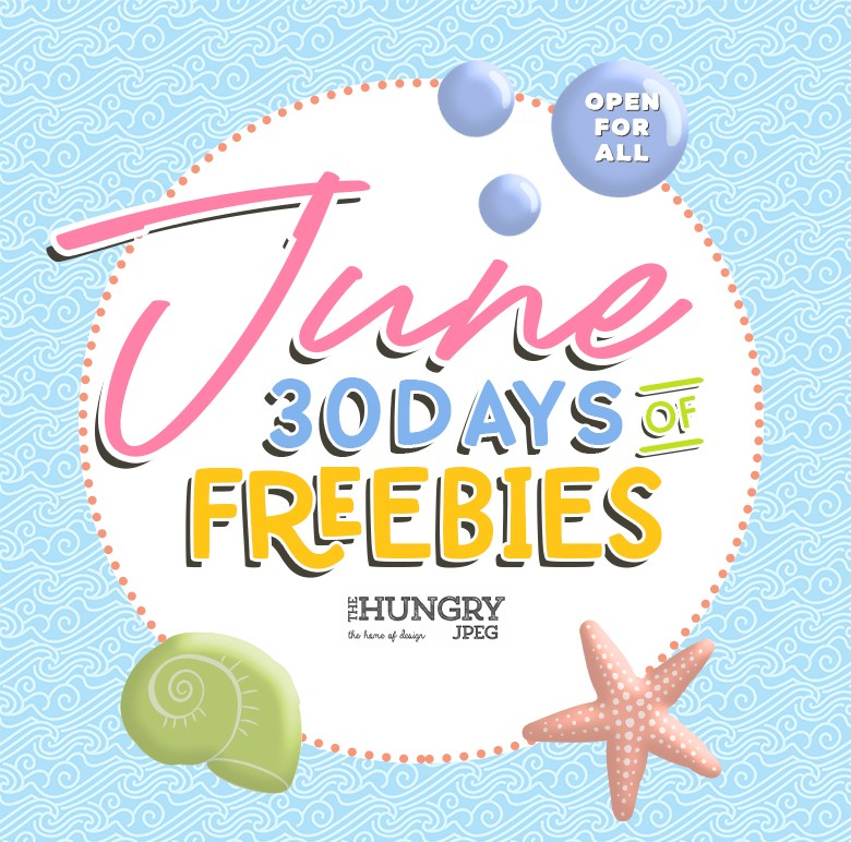 Celebrate Summer With 30 Days Of Fonts, SVG and Graphic