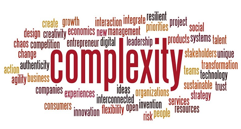 Complexity in the workspace defining so many different things that go on