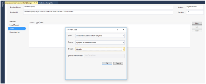 How to create a multi-layered project with Visual Studio IDE