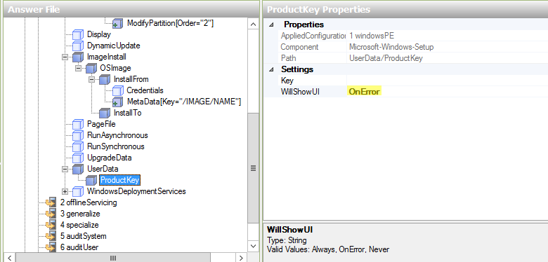 Creating a Windows Server 2012 R2 Core unattended