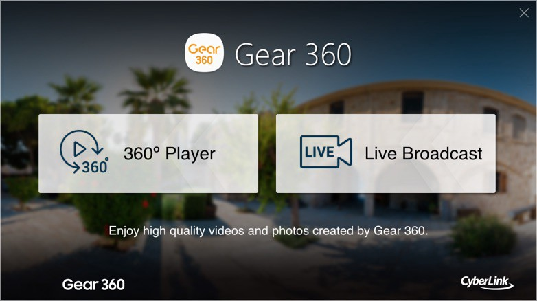 How to upload 360 photos from a Samsung Gear 360 to your Mac