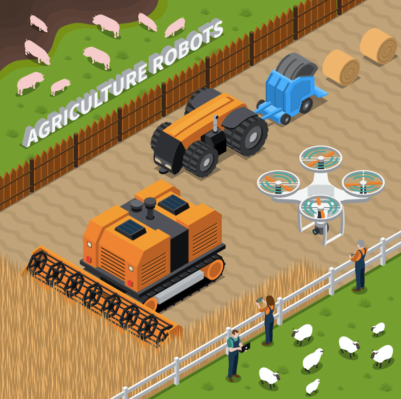 The role of Artificial Intelligence in Agriculture.