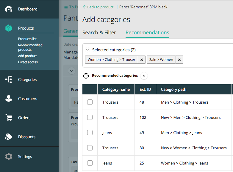 Boosting Product Categorization with Machine Learning