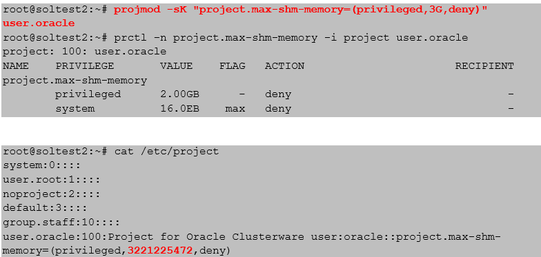Shared Memory Management on Oracle Solaris for Oracle Databases