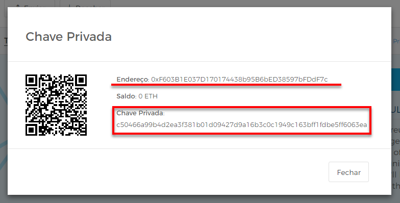 Accessing your Ether wallet's Private Keys on Blockchain info