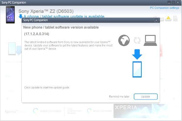 Sony Xperia Z2 Update 17 1 2 A 0 314 Now Live (Updated)