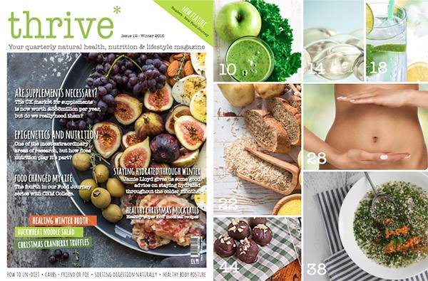 Behind the scenes of local business Thrive Magazine