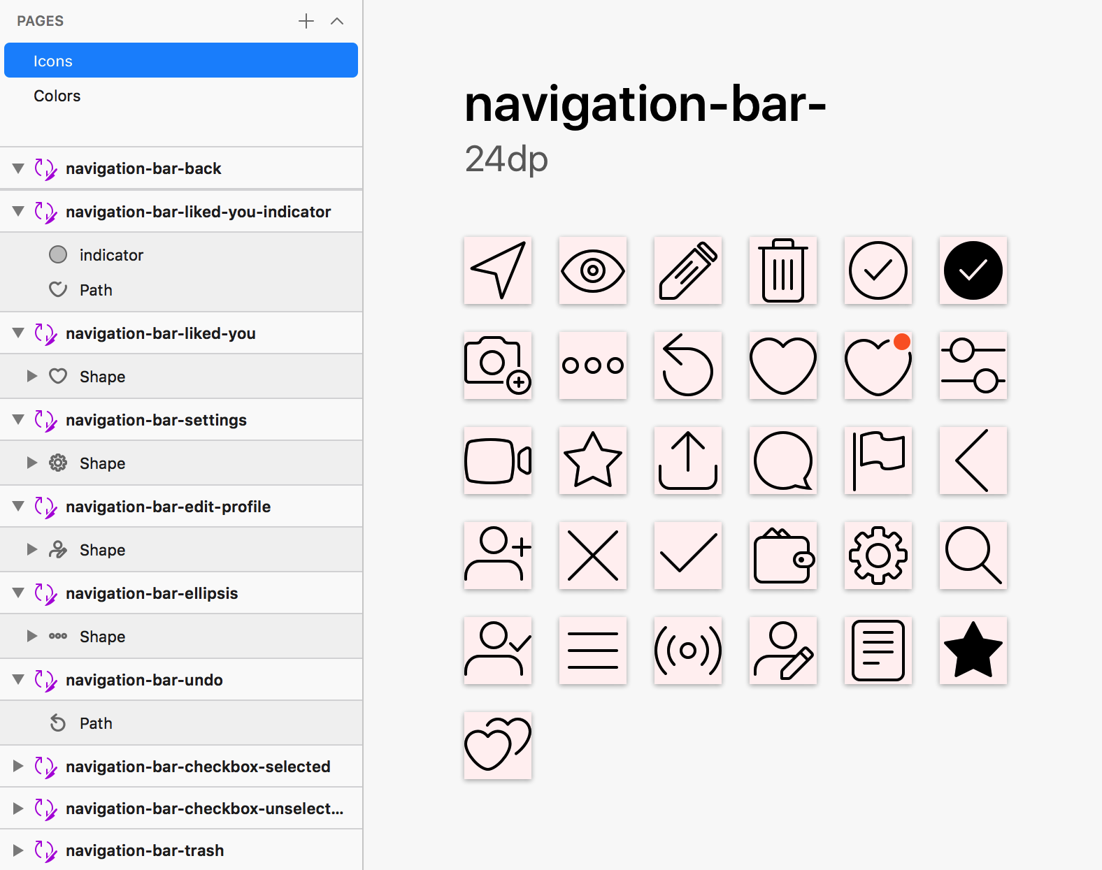 Generating multi-brand multi-platform icons with Sketch and