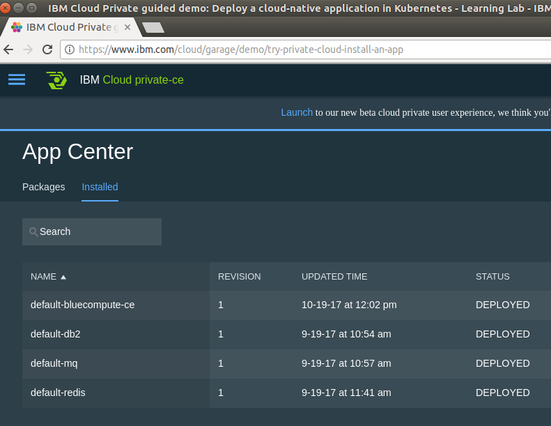 How the IBM Cloud Private Demo Helped me Understand